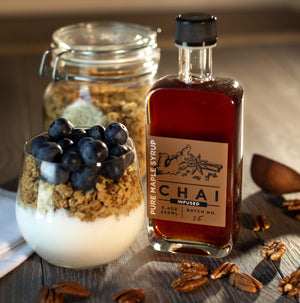 Chai Infused Pure Maple Syrup