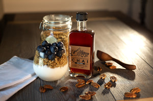 old state farms chai infused pure maple syrup