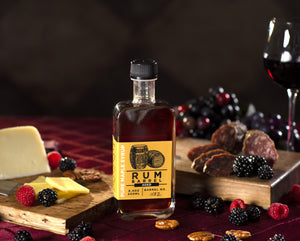 Old State Farms Rum barrel aged pure maple syrup