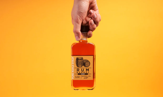 Rum Barrel Aged Pure Maple Syrup 1