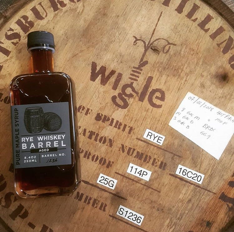 wigle whiskey Rye whiskey barrel