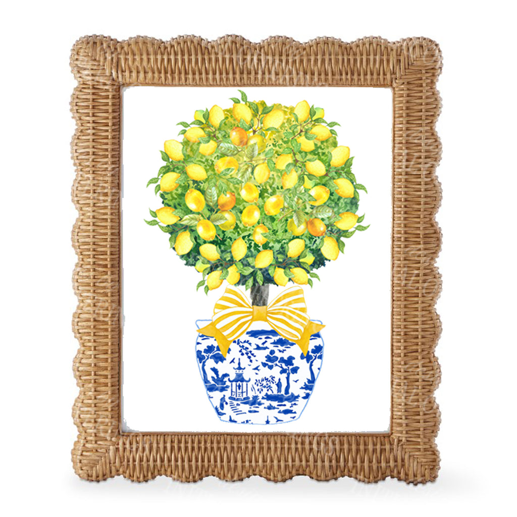 Topiary with Lemons Wall Art