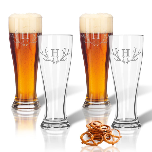 Drinkware Set of 4 Pilsner Glasses
