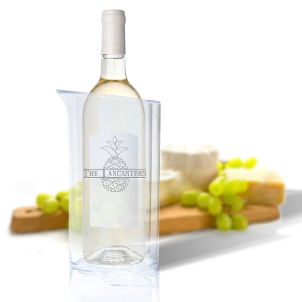 Acrylic Iceless Wine Bottle Cooler