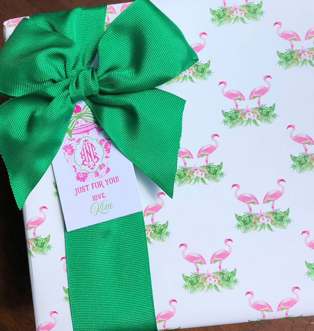 Flamingo Gift Wrap Paper