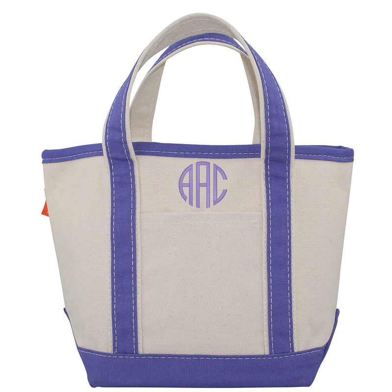 Canvas Boat Tote | 3 Sizes | Available in 14 Colors