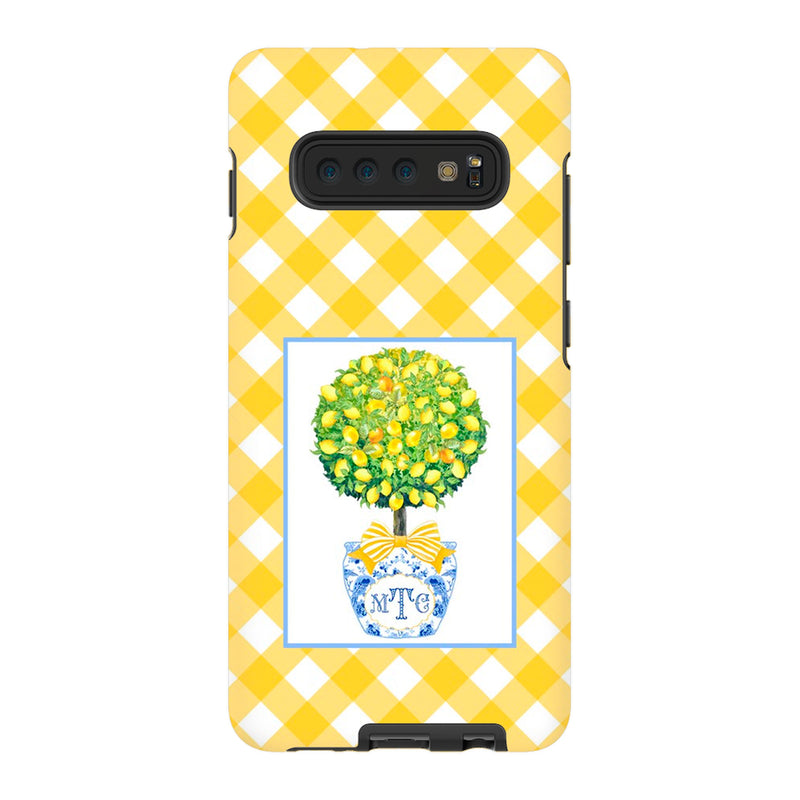 Topiary with Lemons Phone Case | iPhone | Samsung | Galaxy | LGG | Google Pixel