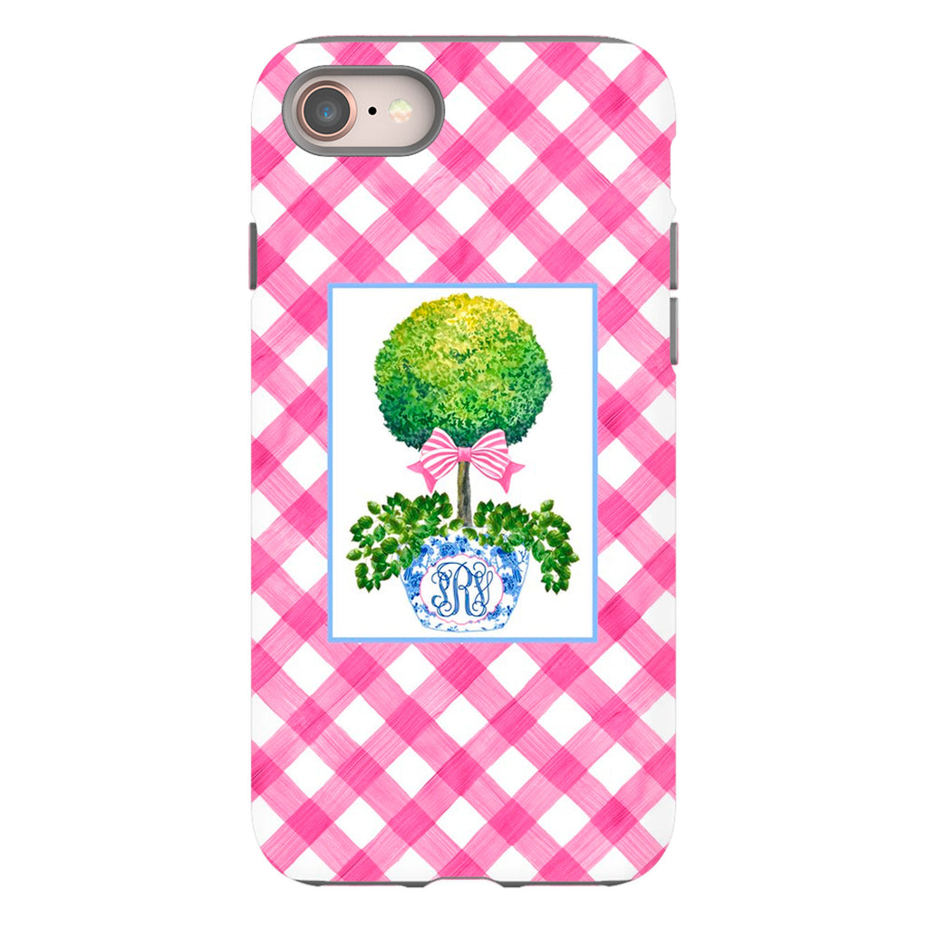 Topiary with Pink Bow Phone Case | iPhone | Samsung | Galaxy | LGG | Google Pixel