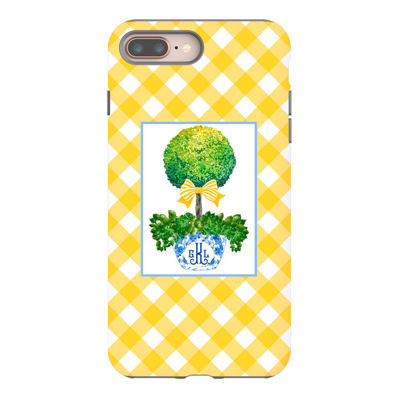 Ginger Jar with Yellow Bow Phone Case | iPhone | Samsung | Galaxy | LGG | Google Pixel
