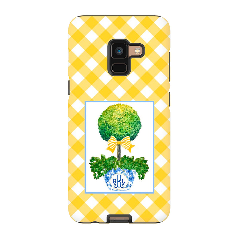 Topiary with Yellow Bow Phone Case | iPhone | Samsung | Galaxy | LGG | Google Pixel