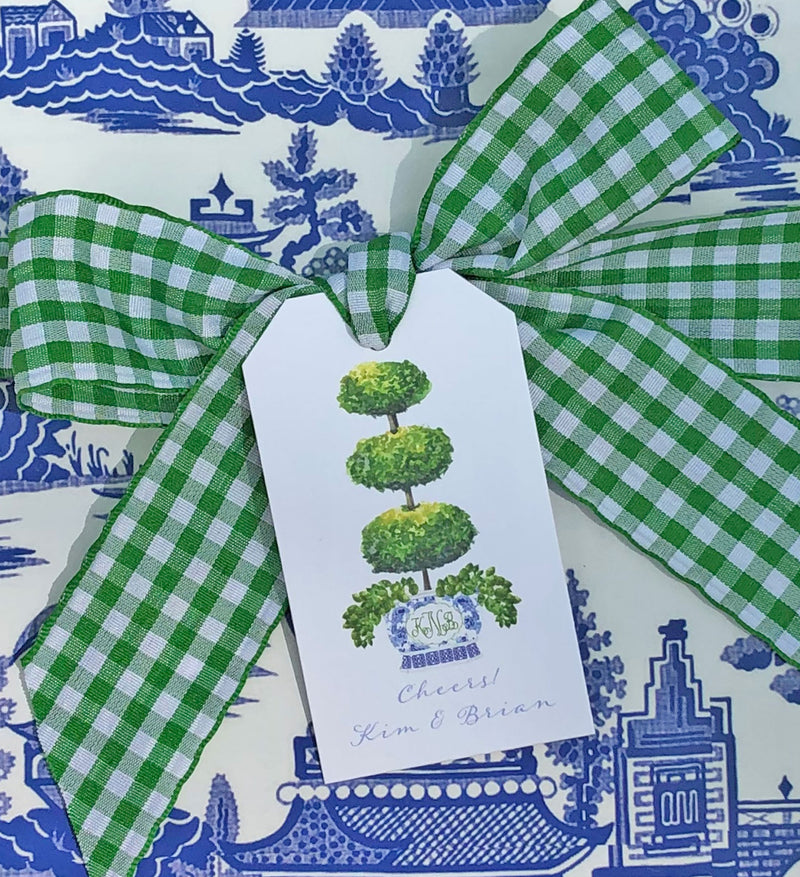 Triple Topiary Gift Tags