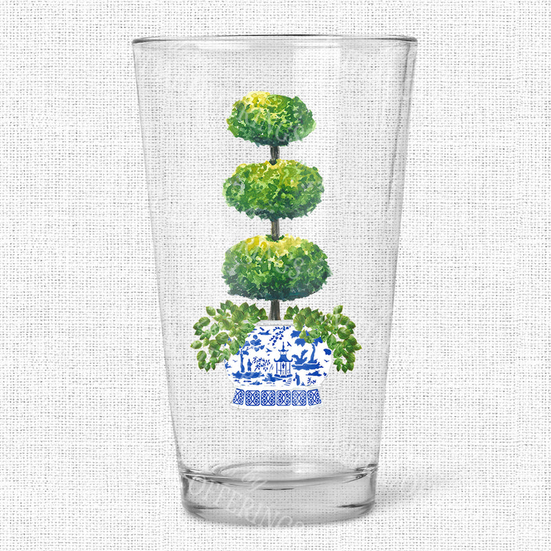 Triple Topiary Glasses
