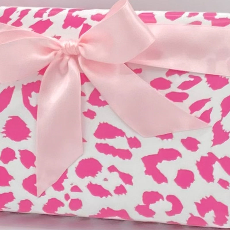 Cheetah Print in Pink Gift Wrap Paper