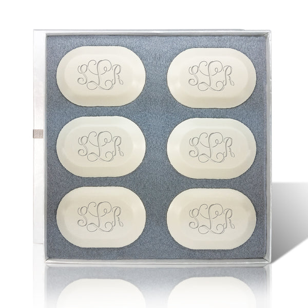 Eco-Luxury Bar Soap Oval Set of 6 Bars
