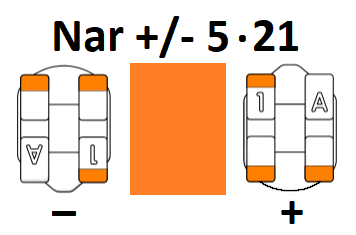 Narrow Universal +/- 5.21 (Pack of 5)