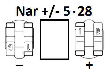 Narrow Universal +/- 5-28 (Pack of 10)