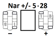 Narrow Universal +/- 5.28 (Pack of 5)