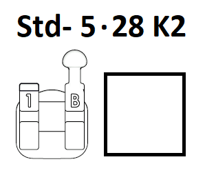 Standard Negative - Std- 5.28 K2 (Right Hook)