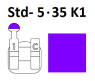 Standard Negative - Std- 5.35 K1 (Left Hook)