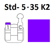 Standard Negative - Std- 5.35 K2 (Right Hook)