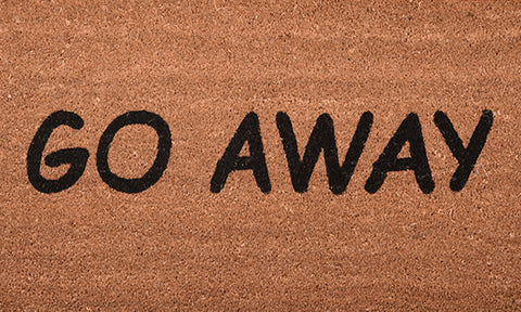Go Away Mat - Footluze Designs