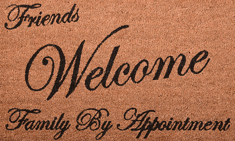 Friends Welcome Mat - Footluze Designs