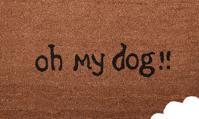 Oh My Dog Mat - Footluze Designs