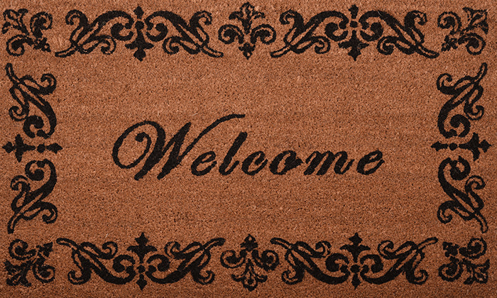 Classic Welcome Mat - Footluze Designs