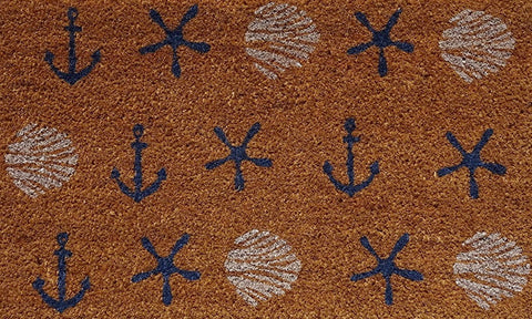 Anchors & Shells Mat
