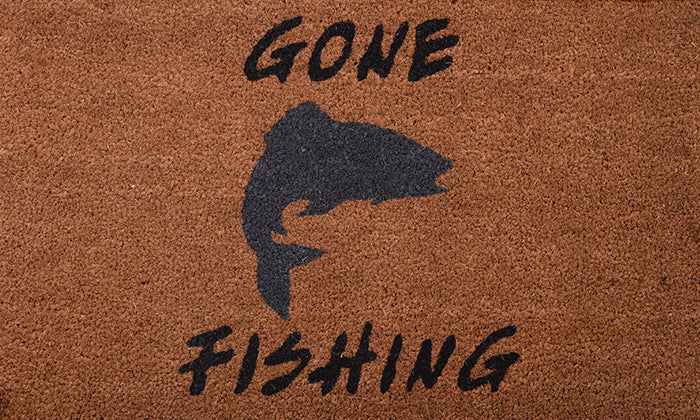 Gone Fishing Mat - Footluze Designs