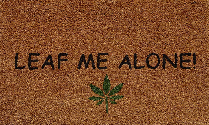 Leaf Me Alone Mat