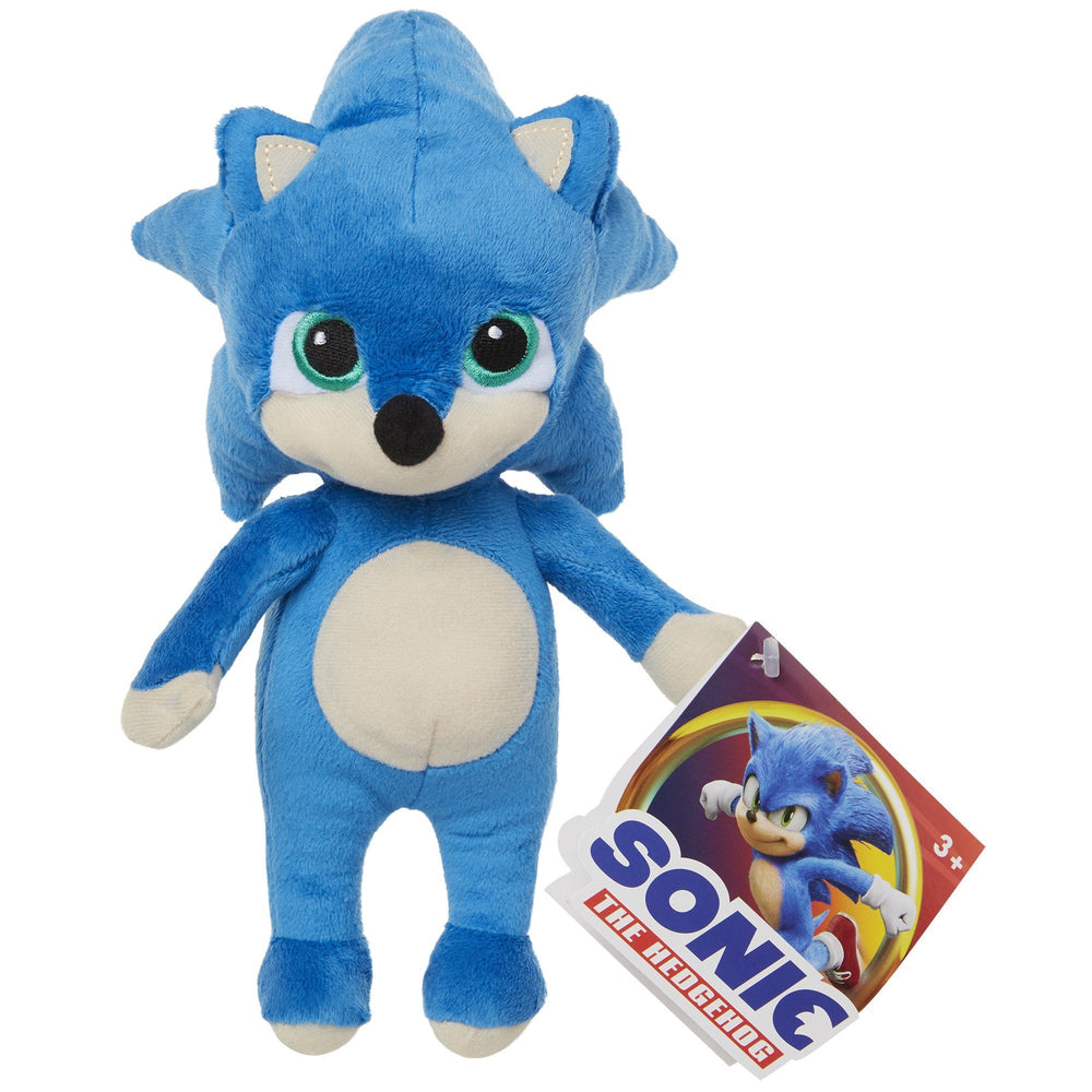 Sonic The Hedgehog 8.5 Inch Baby Sonic Plush Jakks Pacific