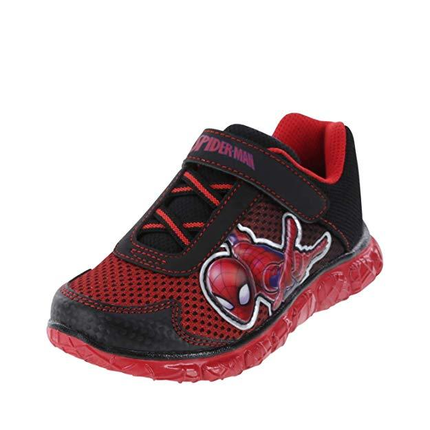 Spiderman Run Course Spider Toddler Sneakers Shoes Red Black Accessories My Moppet Shop 6