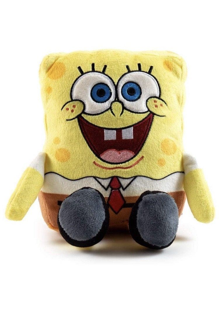 "Spongebob Squarepants Nick 90's Phunny Plush 7"" by Kidrobot My Moppet Shop"