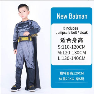 Kids Costumes With Mask and Cloak Clothing MJJ Source New Batman S