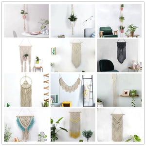 Handmade Wall Hanging Tapestry Macrame Wedding Ceremony Backdrop Wall Art Wedding Home Living Room Home Decor Home My Moppet Shop