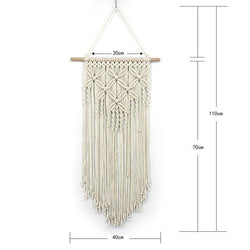 Handmade Wall Hanging Tapestry Macrame Wedding Ceremony Backdrop Wall Art Wedding Home Living Room Home Decor Home My Moppet Shop Tapestry beige