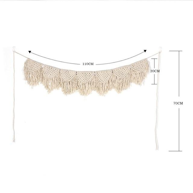 Handmade Wall Hanging Tapestry Macrame Wedding Ceremony Backdrop Wall Art Wedding Home Living Room Home Decor Home My Moppet Shop Tapestry10
