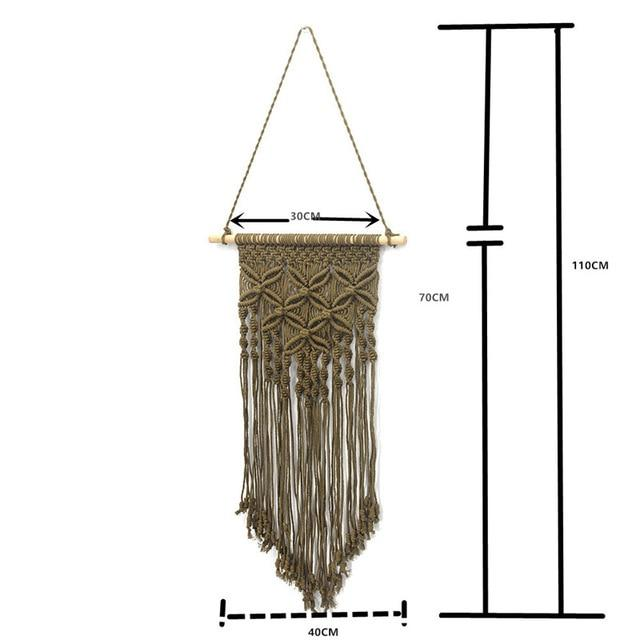 Handmade Wall Hanging Tapestry Macrame Wedding Ceremony Backdrop Wall Art Wedding Home Living Room Home Decor Home My Moppet Shop Tapestry coffee