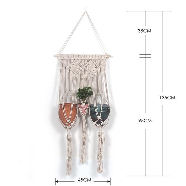 Handmade Wall Hanging Tapestry Macrame Wedding Ceremony Backdrop Wall Art Wedding Home Living Room Home Decor Home My Moppet Shop Tapestry4
