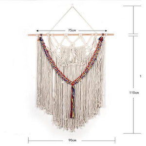 Handmade Wall Hanging Tapestry Macrame Wedding Ceremony Backdrop Wall Art Wedding Home Living Room Home Decor Home My Moppet Shop Tapestry9