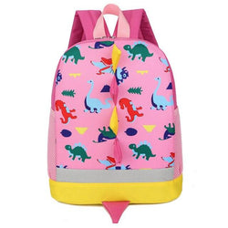 Toddler & Kids Small Dinosaur Backpack For Boys Girls Ages 3-6 Accessories My Moppet Shop Pink United States