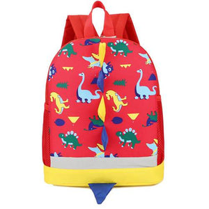Toddler & Kids Small Dinosaur Backpack For Boys Girls Ages 3-6 Accessories My Moppet Shop Red United States