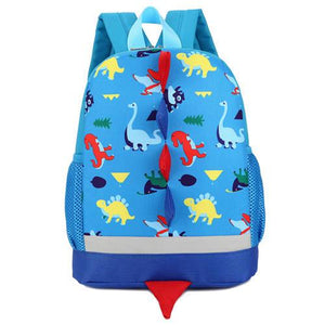 Toddler & Kids Small Dinosaur Backpack For Boys Girls Ages 3-6 Accessories My Moppet Shop Blue United States