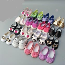 "Doll Shoes for 43 cm 18"" Dolls Doll Accessories 14 styles Toys My Moppet Shop"