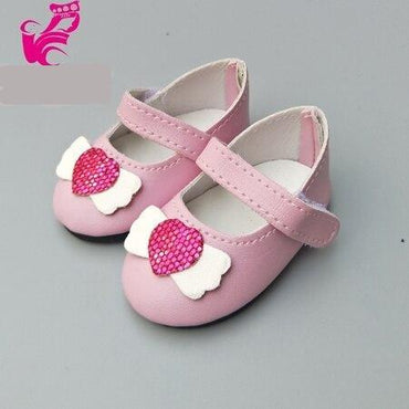 "Doll Shoes for 43 cm 18"" Dolls Doll Accessories 14 styles Toys My Moppet Shop C"