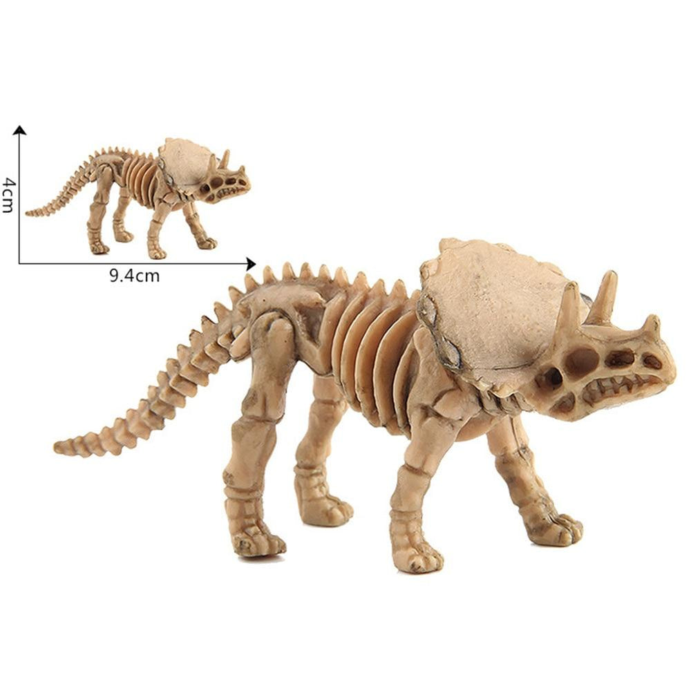 12pcs/set Simulation Plastic Various Collection Set Kids Toy Dino Dinosaur Model Skeleton Figures Lifelike Home Decor Toys My Moppet Shop