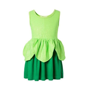 Girls Clothing snow white princess dress Clothing Kids Clothes,belle moana Minnie Mickey dress birthday dresses mermaid costume MJJ Source tinker bell 3T