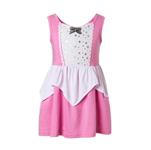 Girls Clothing snow white princess dress Clothing Kids Clothes,belle moana Minnie Mickey dress birthday dresses mermaid costume MJJ Source sleeping girl 3T