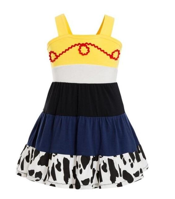 Girls Clothing snow white princess dress Clothing Kids Clothes,belle moana Minnie Mickey dress birthday dresses mermaid costume MJJ Source jessie 3T